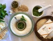 Ricetta riso con pesto